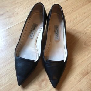 dff87b1ca1de Jimmy Choo Shoes - Jimmy Choo Allure Notch Point Toe leather pump